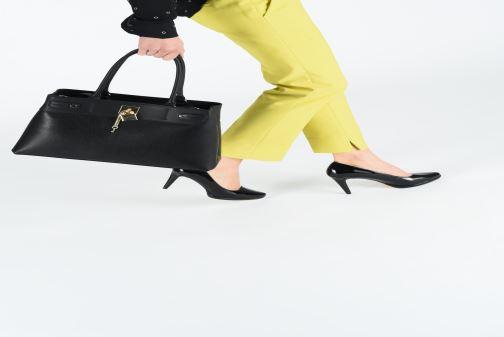 Handtaschen Aldo GENUALDI schwarz ansicht von unten / tasche getragen