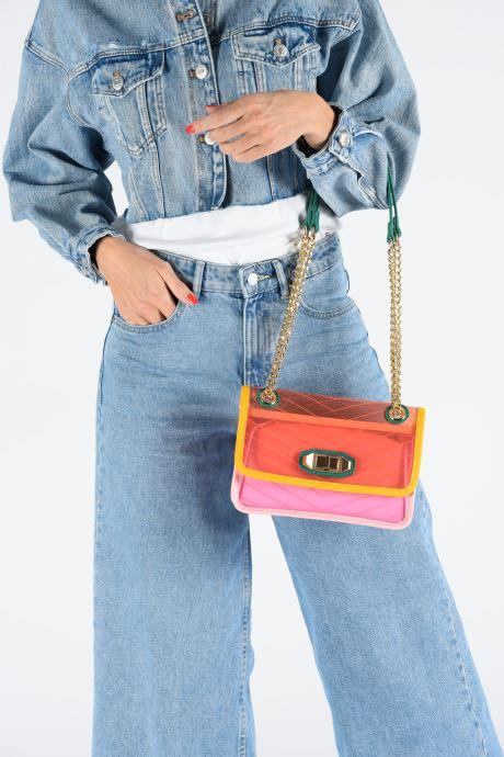 Handtaschen Aldo MAPRANG rosa ansicht von unten / tasche getragen