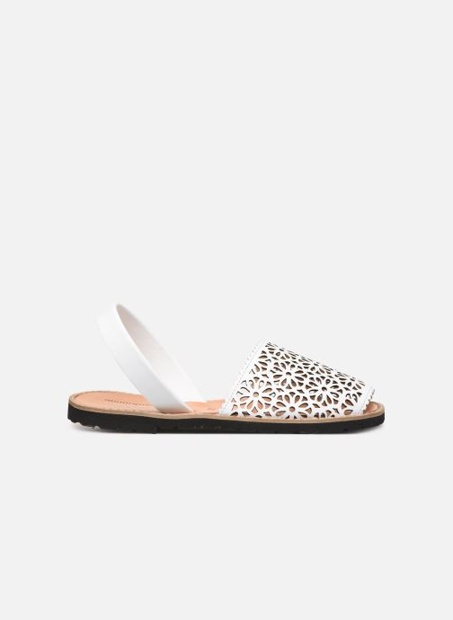 Sandali e scarpe aperte MINORQUINES Avarca 4 Bianco immagine posteriore
