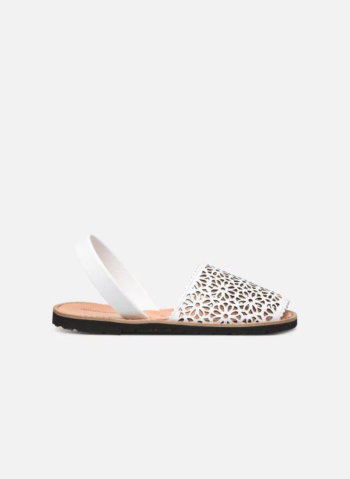 Sandales et nu-pieds Minorquines Avarca 4 Blanc vue derrière