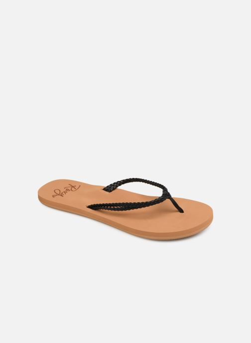 Slippers Roxy Costa Zwart detail
