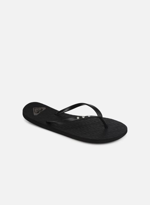 Flip flops & klipklapper Roxy Viva Glitz II Sort detaljeret billede af skoene