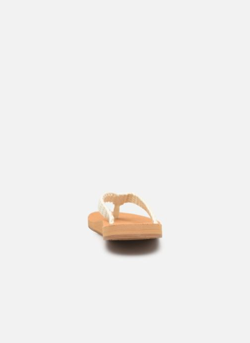 Slippers Roxy Porto II Wit rechts