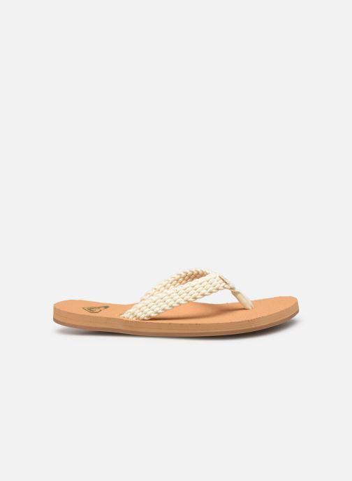 Slippers Roxy Porto II Wit achterkant