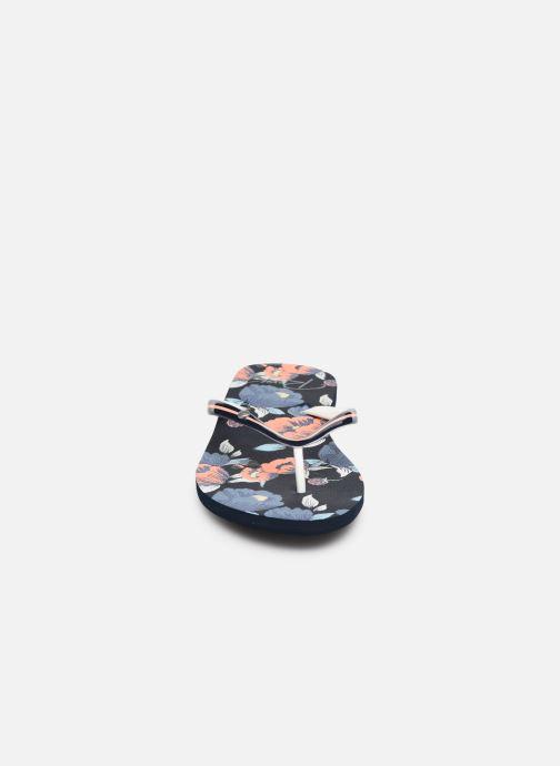 Tongs Roxy Portofino II Multicolore vue portées chaussures