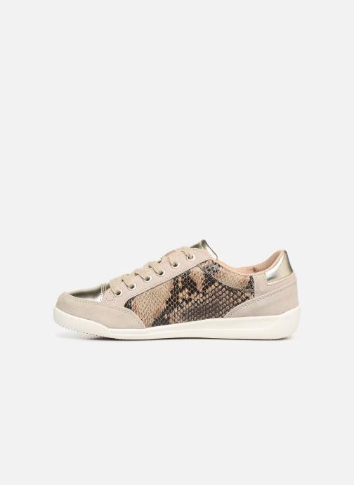 Sneaker Damart Arlette beige ansicht von vorne
