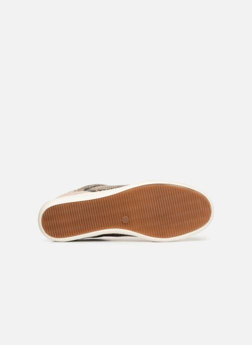 Sneaker Damart Arlette beige ansicht von oben