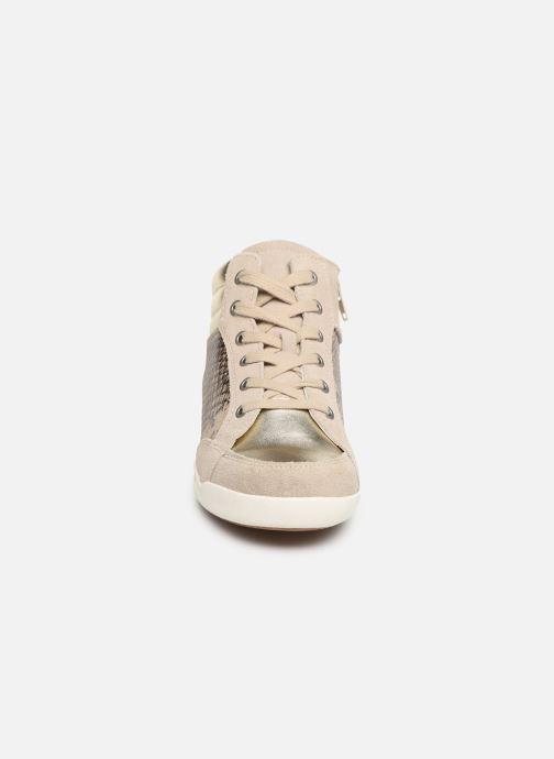 Baskets Damart Aline Beige vue portées chaussures