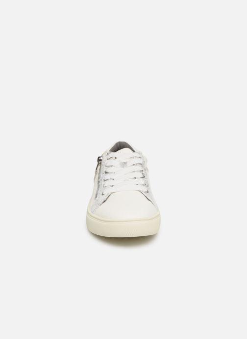 Baskets Damart Apolline Blanc vue portées chaussures