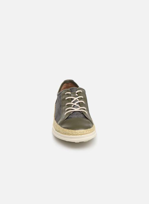 Baskets Damart Angelique Vert vue portées chaussures