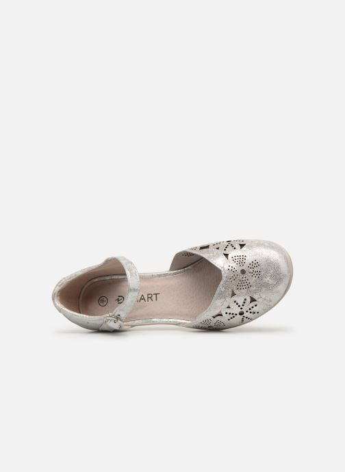 Sandals Damart Armelle Silver view from the left