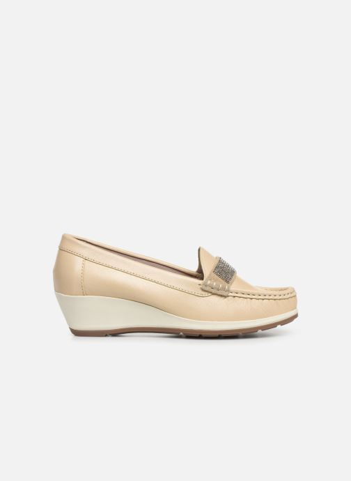 Loafers Damart Aurore Beige back view