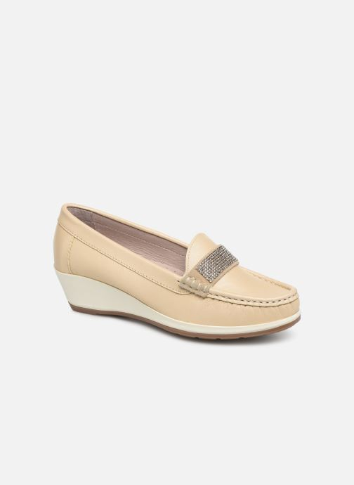 Loafers Damart Aurore Beige detailed view/ Pair view