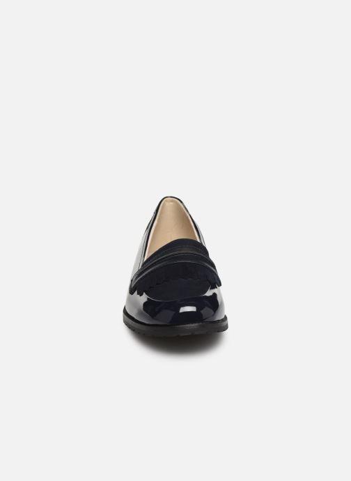 Mocassins Damart Adeline Bleu vue portées chaussures
