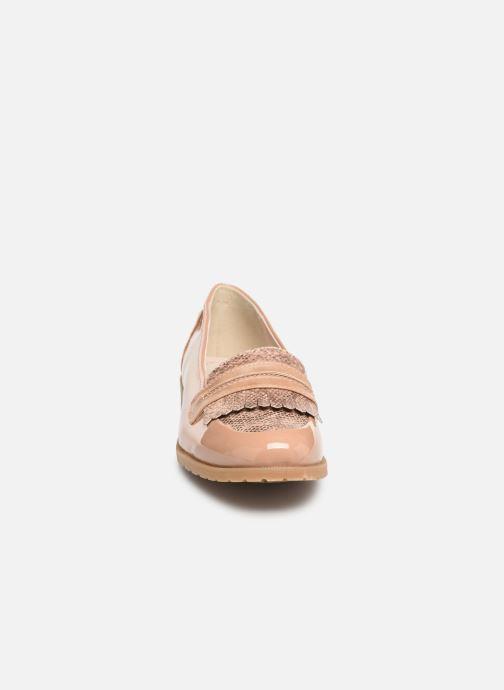 Mocassins Damart Adeline Rose vue portées chaussures
