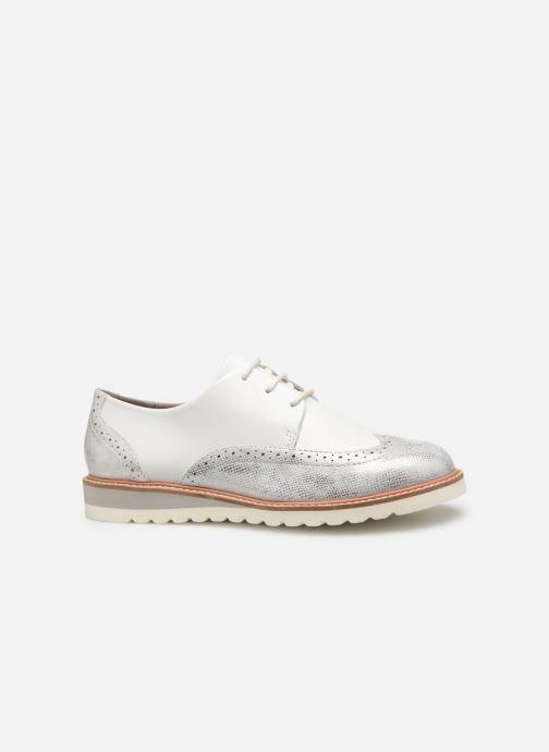 Chaussures à lacets Damart Amelia Blanc vue derrière