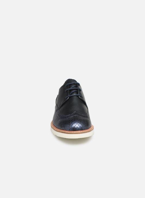 Chaussures à lacets Damart Amelia Bleu vue portées chaussures
