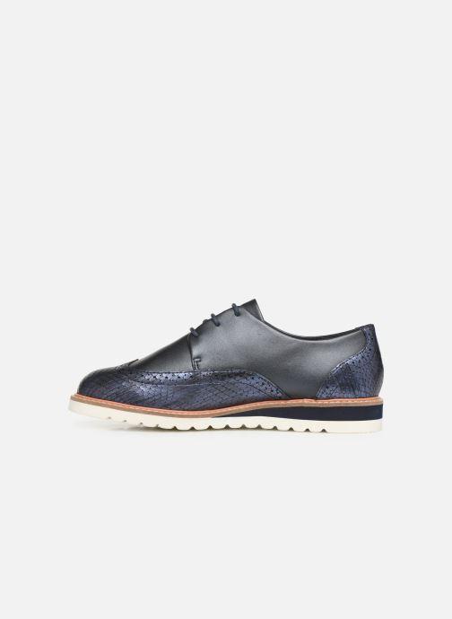 Chaussures à lacets Damart Amelia Bleu vue face