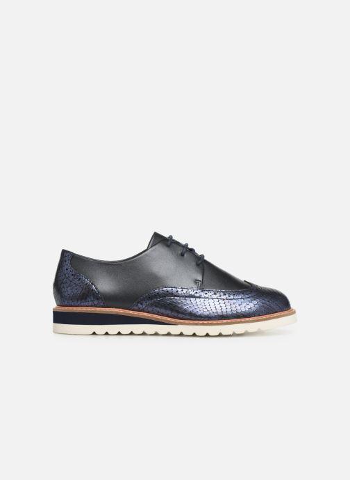 Chaussures à lacets Damart Amelia Bleu vue derrière