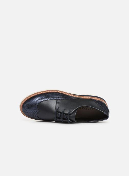 Chaussures à lacets Damart Amelia Bleu vue gauche