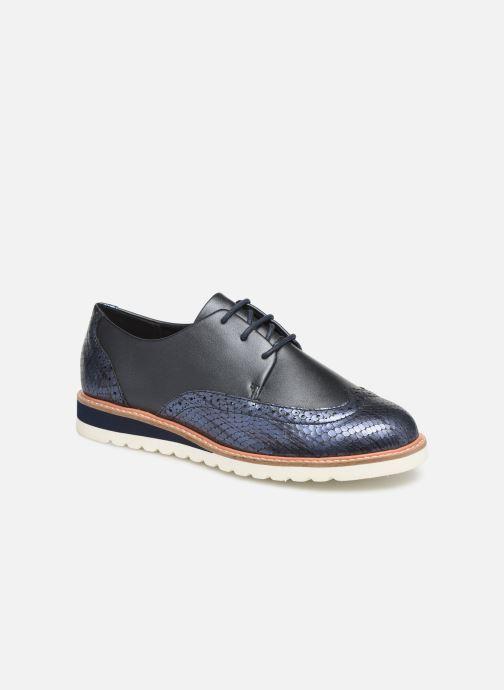 Chaussures à lacets Damart Amelia Bleu vue détail/paire