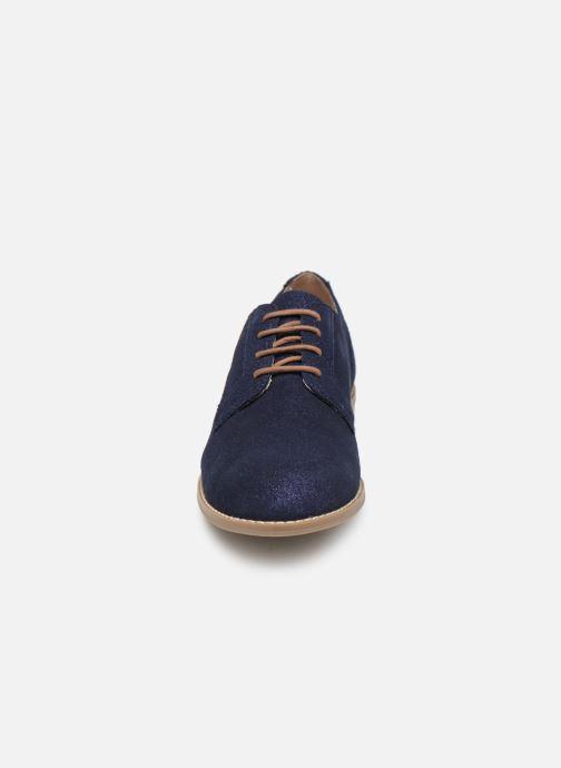 Chaussures à lacets Damart Albane Bleu vue portées chaussures