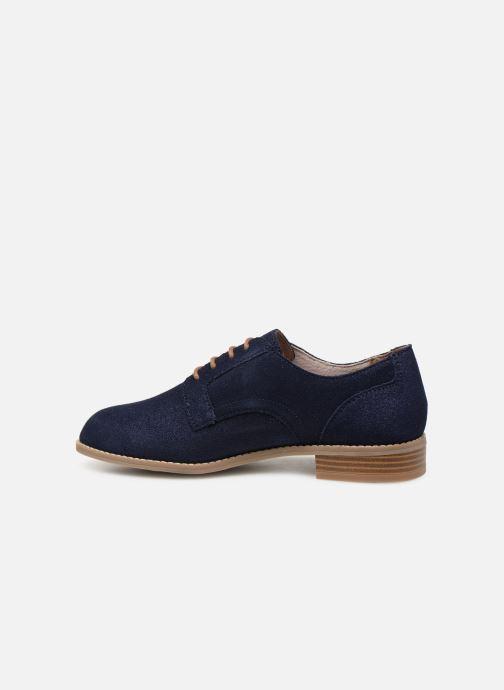Chaussures à lacets Damart Albane Bleu vue face