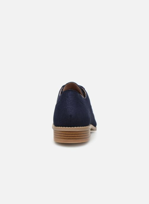 Chaussures à lacets Damart Albane Bleu vue droite
