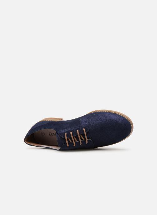 Chaussures à lacets Damart Albane Bleu vue gauche