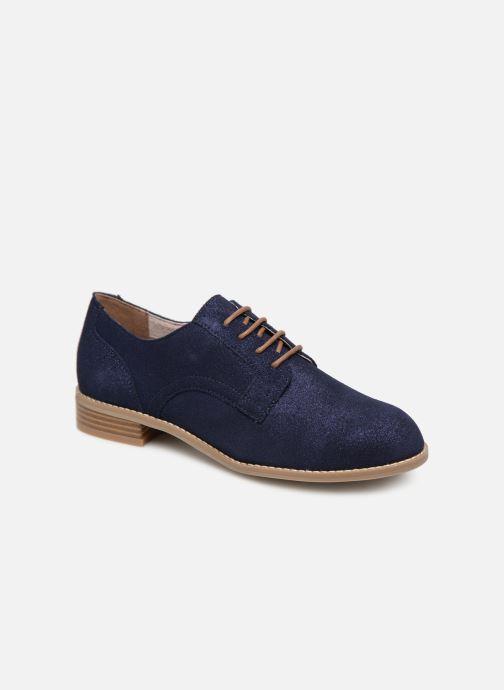 Chaussures à lacets Damart Albane Bleu vue détail/paire