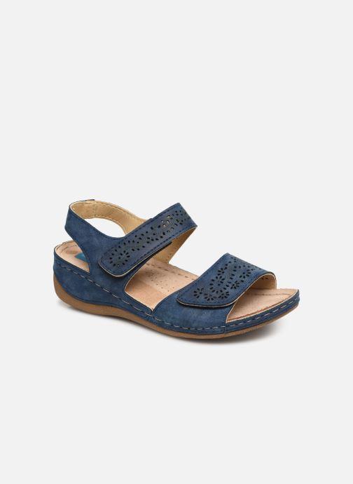 Sandalias Damart Abbie Azul vista de detalle / par