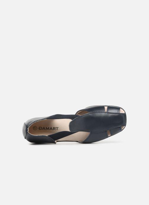 Sandalen Damart Armance Blauw links