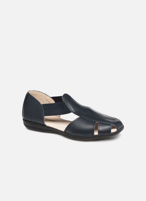 Sandalen Damart Armance Blauw detail