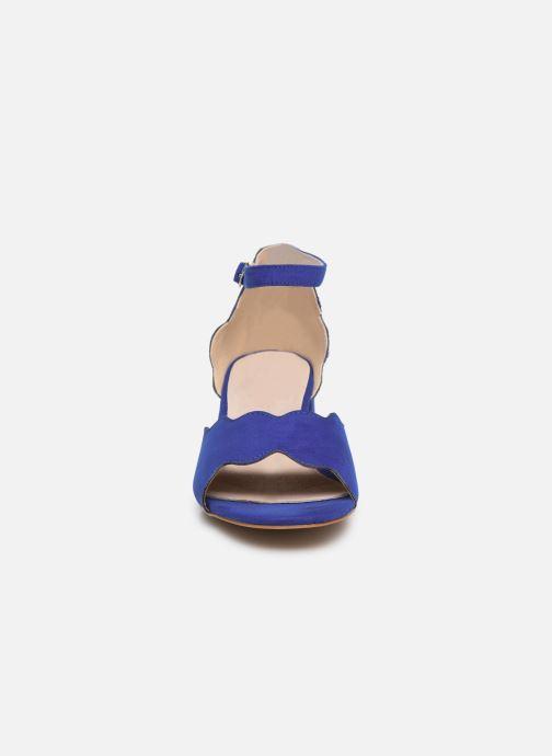 Sandalen Damart Alexia blau schuhe getragen