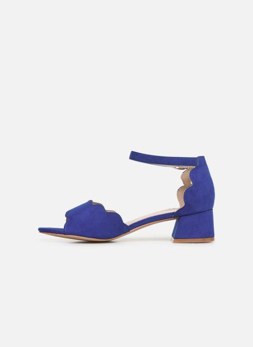 Sandalen Damart Alexia blau ansicht von vorne
