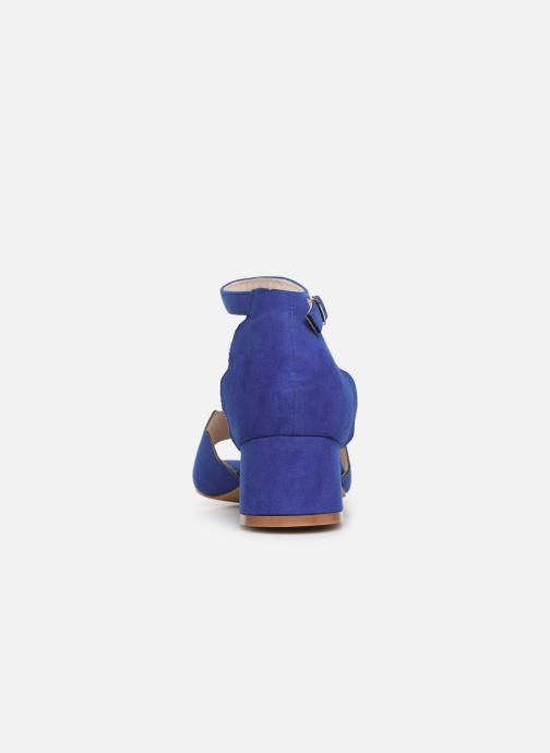 Sandalen Damart Alexia blau ansicht von rechts