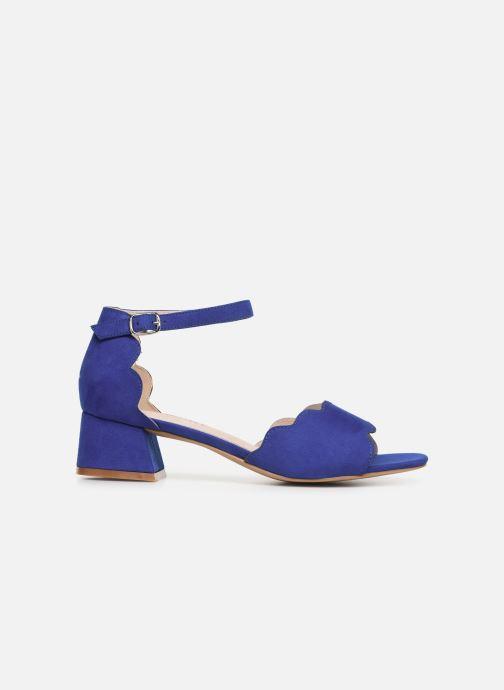 Sandalen Damart Alexia blau ansicht von hinten