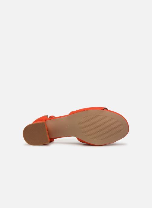 Sandalen Damart Alexia rot ansicht von oben