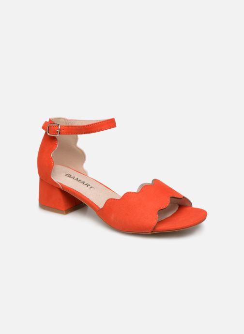 Sandalen Damart Alexia rot detaillierte ansicht/modell