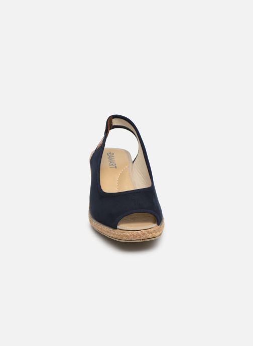 Espadrilles Damart Aurele Bleu vue portées chaussures