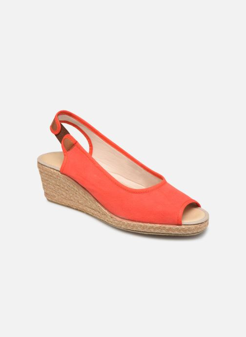 Espadrillos Damart Aurele Rød detaljeret billede af skoene