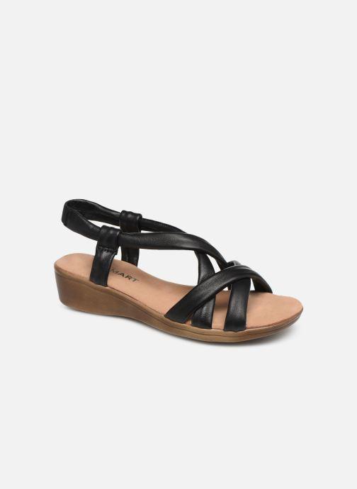 Sandales et nu-pieds Damart Anita Noir vue détail/paire