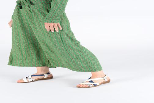 Sandali e scarpe aperte Damart Anita Bianco immagine dal basso