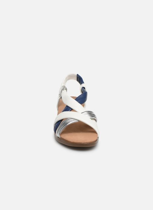 Sandales et nu-pieds Damart Anita Blanc vue portées chaussures