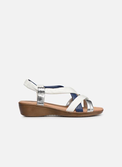 Sandali e scarpe aperte Damart Anita Bianco immagine posteriore