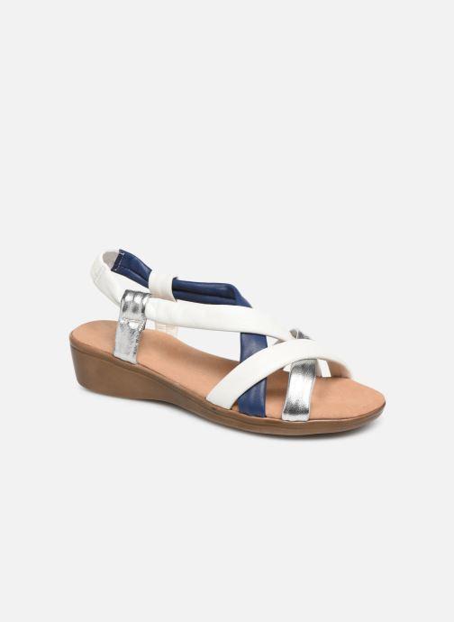 Sandales et nu-pieds Damart Anita Blanc vue détail/paire
