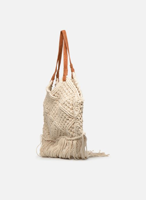 Handbags Pepe jeans VIRGINIA BAG Beige view from the right