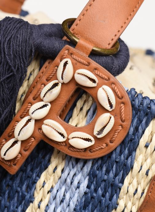 Bolsos de mano Pepe jeans HINES BAG Azul vista lateral izquierda