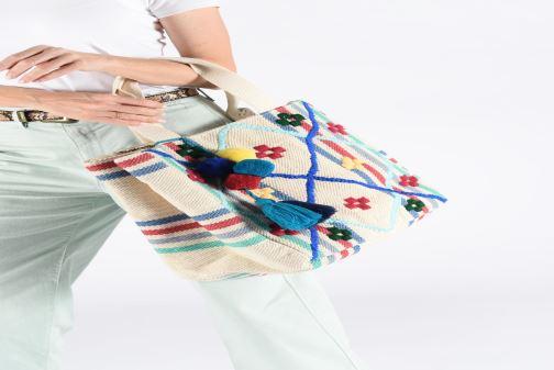 Handtaschen Pepe jeans MARION BAG mehrfarbig ansicht von unten / tasche getragen