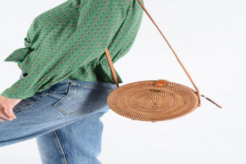 Handtaschen Pepe jeans JOANNE BAG braun ansicht von unten / tasche getragen